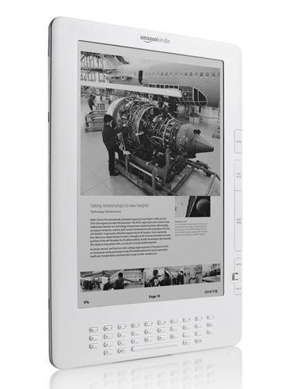 El lector electrónico Kindle permite almacenar hasta 1.500 libros.