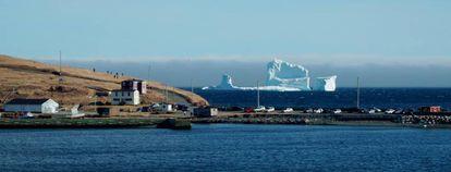 """Ferryland está en una zona conocida como """"el corredor de los icebergs"""", en Canadá."""