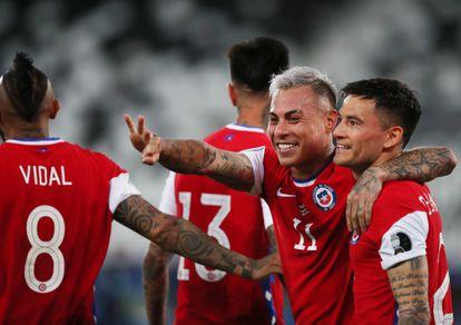 Copa América 2021: El hechizo de Eduardo Vargas con Chile | Copa América de Fútbol 2021 | EL PAÍS