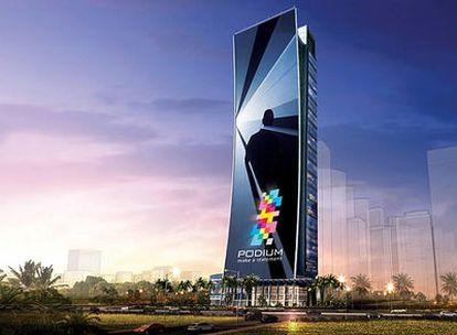 Dubai albergará la mayor televisión del mundo, visible a un kilómetro y medio de distancia