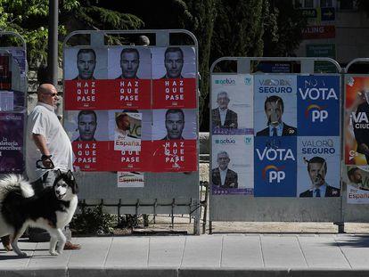 La jornada reflexión de las elecciones generales del 28-A, en imágenes
