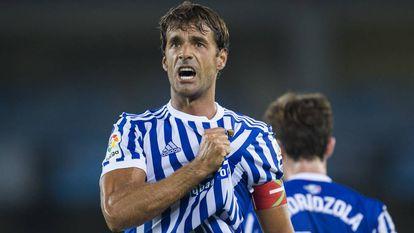 El exfutbolista de la Real Sociedad Xabi Prieto.