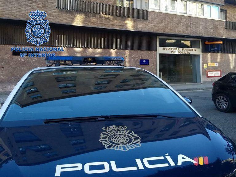 Imagen de archivo de un vehículo policial en Navarra.