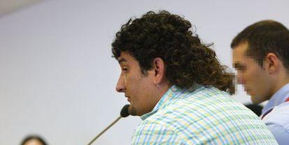 Carlos Hervás, durante el juicio por matar a cuchilladas a una mujer. / lluís serrat (el punt)