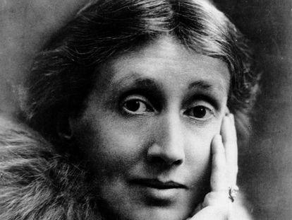La escritora británica Virginia Woolf, fotografiada en Londres, sin fecha exacta.