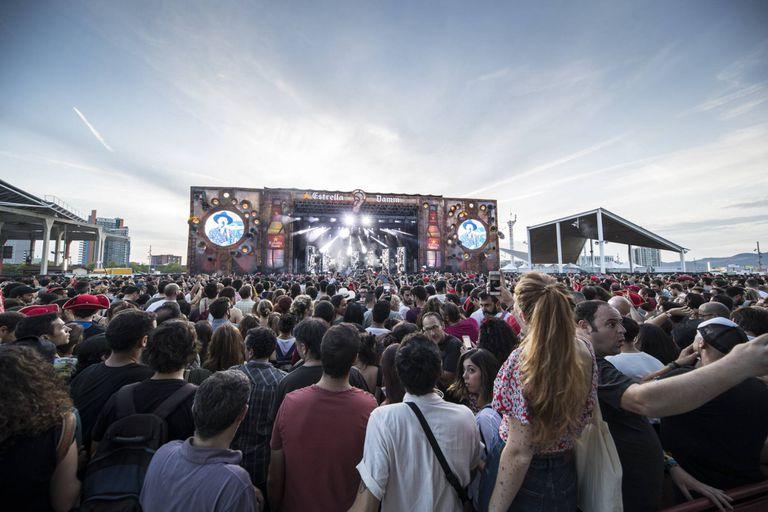 Imagen del escenario principal del Cruïlla.