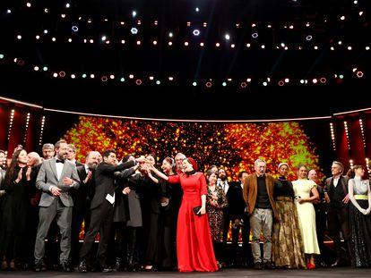 Ceremonia de premios en el 70º Festival Internacional de Cine de Berlín, la Berlinale, el pasado 29 de febrero.
