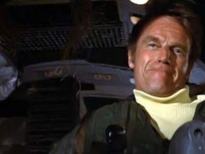 Charlton Heston, en 'Aeropuerto 1975', dirigida por Jack Smight.