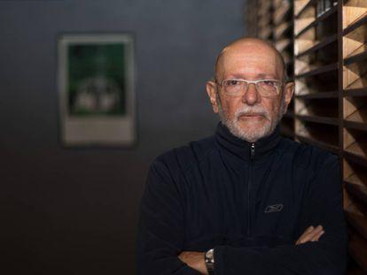 El arqueólogo Eduardo Matos, en el museo Templo Mayor.