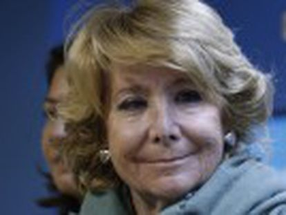 La presidenta del PP de Madrid dice que no quiere hacerse de  rogar , pero que ella es  un activo  que puede ser de  utilidad