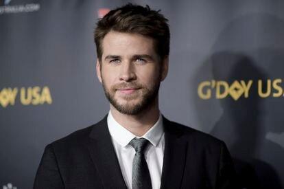Liam Hemsworth en Culver City (California, EE UU), en 2019.