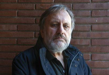 El filósofo y sociólogo esloveno Slavoj Žižek