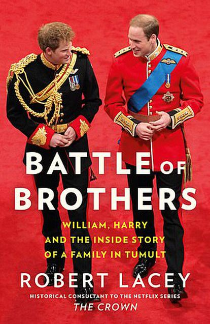 La portada de 'Battle of Brothers', el libro de Robert Lacey.
