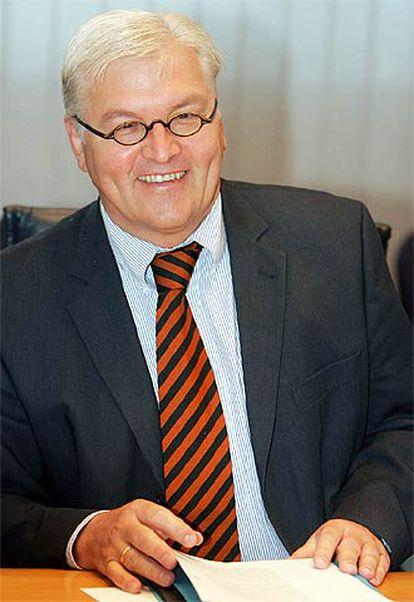 El ministro de Asuntos Exteriores alemán, Frank-Walter Steinmeier.