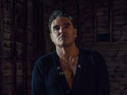 El cantante británico Morrissey.