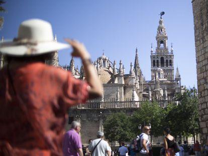 La Giralda de Sevilla, en una imagen de septiembre de 2019.