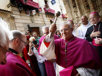 El obispo de Orihuela-Alicante, el valenciano Jesús Murgui Soriano, en una foto de 2012.