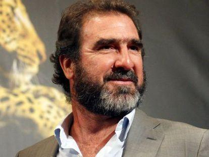 El ex jugador de fútbol Enric Cantona.
