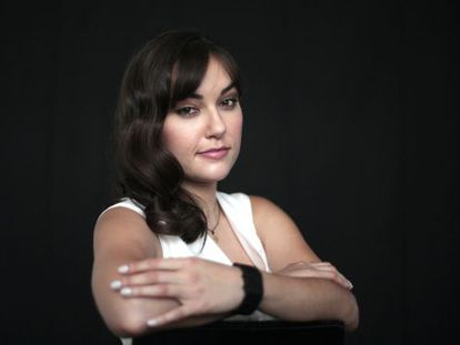 Sasha Grey, retratada en Madrid.