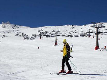 Varios esquiadores en la estación de Sierra Nevada, en Granada.