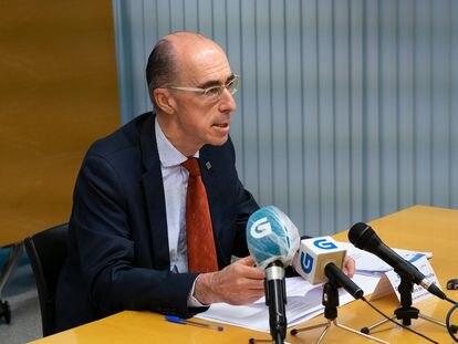 Jesús Vázquez Almuiña, conselleiro de Sanidade de la Xunta.