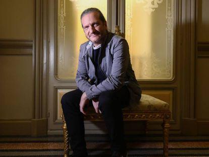 Darío Stajnszajber, en Casa de América, en Madrid, el martes.
