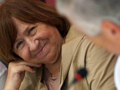 Svetlana Alexiévich, este viernes en Córdoba donde inaugura Cosmopoética.