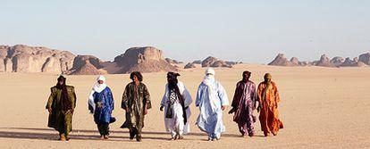 """""""La arena es lo que da sabor a todo en el desierto, a la vida allí, es como la sal"""", afirma Eyadou Ag Leche."""