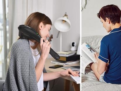 Además de ser ideales para aliviar tensiones en la espalda, también pueden relajar el cuello, las piernas y el abdomen