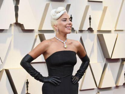 Lady Gaga, en la gala de los Oscar de 2019.