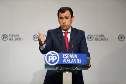 Fernando Martínez-Maillo durante una rueda de prensa.