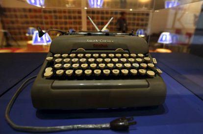 La primera Smith Corona que tuvo García Márquez.