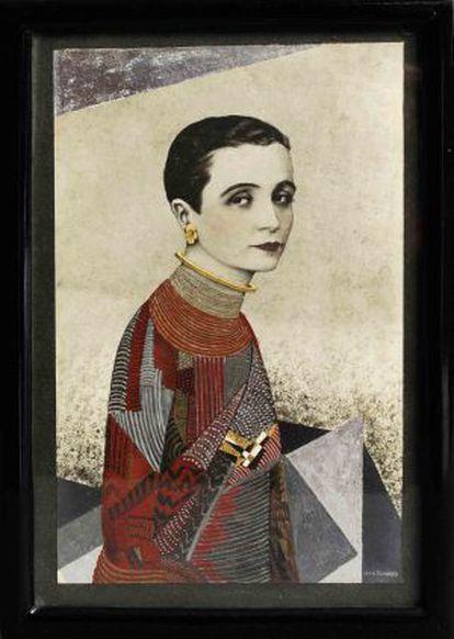 Madame Agnés, de Jean Dunand.