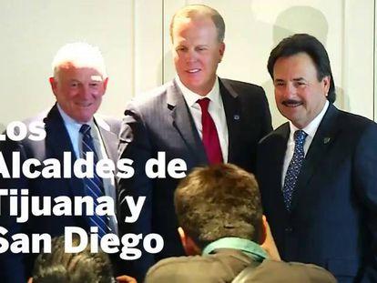 Los alcaldes de San Diego y Tijuana estrechan lazos frente a las políticas de Trump