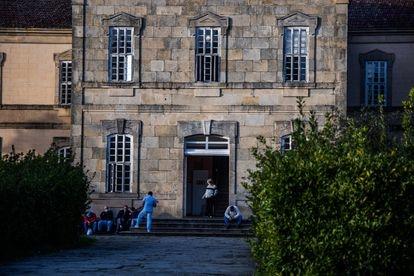 Pabellón residencial del Hospital Psiquiátrico de Conxo, en Santiago de Compostela.