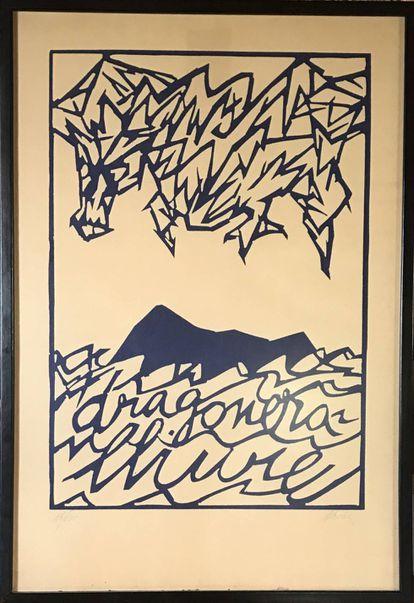 'Dragonera Lliure', obra de Vicens Ferrer.
