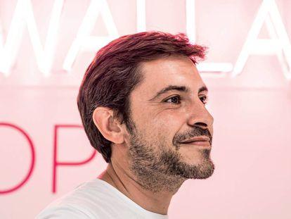Agus Gómez (Hospitalet, 1979), CEO y fundador de Wallapop