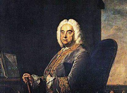 Retrato de Georg Friedrich Haendel pintado por Thomas Hudson (National Gallery de Londres).