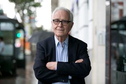 El sociólogo José María Maravall, fotografiado este 17 de junio en Madrid.