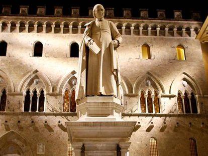 Sede del Monte dei Paschi di Siena, en la localidad italiana que le da nombre.