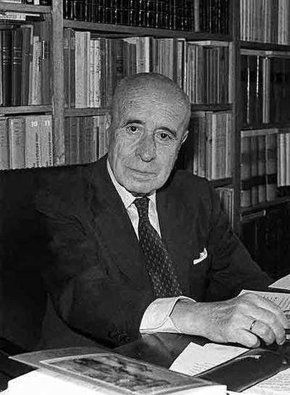 José Antonio Maravall.