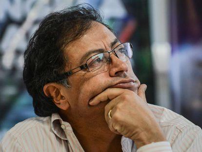 El candidato presidencial de Colombia Gustavo Petro, en una imagen de archivo.