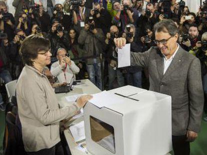 El expresidente de la Generalitat fue condenado por desobediencia por el Tribunal Superior de Cataluña