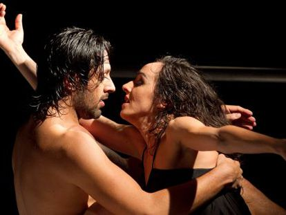 Rafael Amargo y Vanesa Gálvez en su nuevo espectáculo.