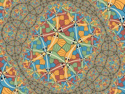 'Circuit Limit III', de M.C. Escher.