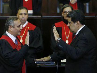 La juramentación del presidente de Venezuela se celebra sin representantes de la UE, Estados Unidos o el Grupo de Lima, con la excepción de México