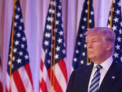 Donald Trump, candidato republicano en liza por conseguir la nominación del partido para las elecciones presidenciales en Estados Unidos.