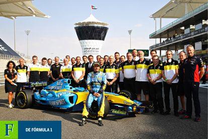 Fernando Alonso regresa a la Fórmula 1 con Renault. Foto: Mark Thompson/Getty Images.
