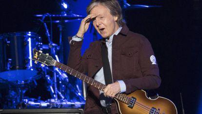 McCartney, en una actuación en Quebec a mediados de septiembre.