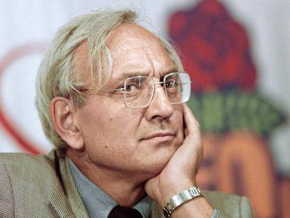 Max Gallo en una fotografía de archivo de 1989.
